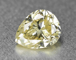 0.31 Cts  Untreated Fancy Yellow Color  Natural Loose Diamond