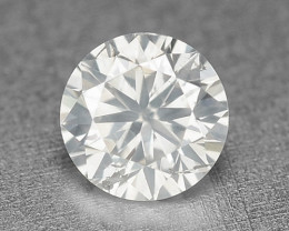 0.18 Cts Untreated Fancy White Gray Color Natural Loose Diamond