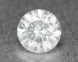 0.15 Cts Untreated Fancy White Color Natural Loose Diamond