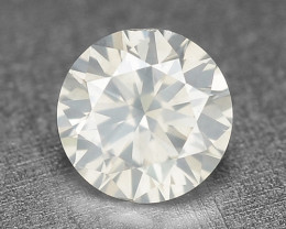 0.22 Cts Untreated Fancy White Color Natural Loose Diamond