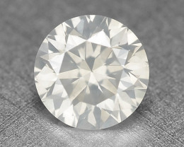 0.30 Cts Untreated Fancy White Grey Color Natural Loose Diamond