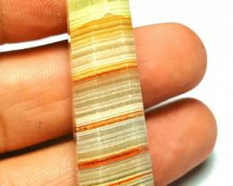 Amazing Natural Tricolor Calcite Pendant with Sliver 73.4Cts-Pakistan#J4
