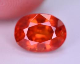 3.25 Ct Natural Orange Color Spessartite Garnet Gemstone