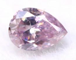 Pink Diamond 2.59mm Genuine Fancy Pink Diamond B2733