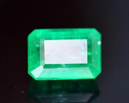 0.75 Ct Brilliant Color Natural Swat Emerald ~ RA