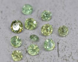 1.59 Crt Natural Demantoid Garnet Faceted Gemstone.( AB 18)