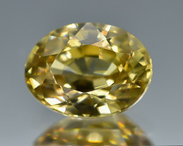 2.35 Crt Natural Zircon Faceted Gemstone.( AB 18)