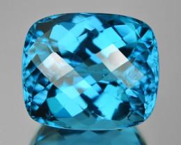 12.18 Cts Rare London Blue Color Natural Topaz Gemstone