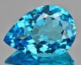 10.89 Cts Rare London Blue Color Natural Topaz Gemstone