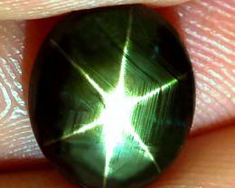 4.54 Carat Thailand Black Star Sapphire - Gorgeous