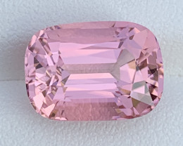 Baby Pink 8.91 Carats Natural Color Tourmaline Gemstone From Afghanistan