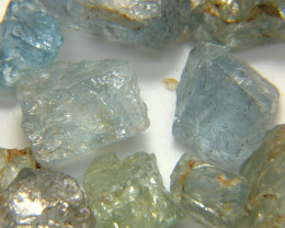 418Ct Natural Aquamarine Rough Parcel