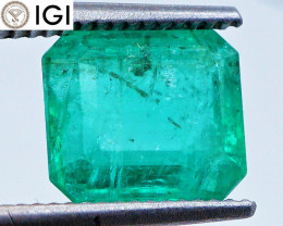 HUGE! IGI Antwerp! 4.41 CT Emerald (Ethiopia) | OIL | $4,410
