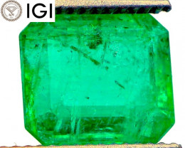 HUGE! IGI Antwerp! 4.41 CT Emerald (Ethiopia) | OIL | $4,410