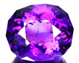 26.14 Cts Natural AAA Purple Amethyst Oval Fancy Cut Bolivia