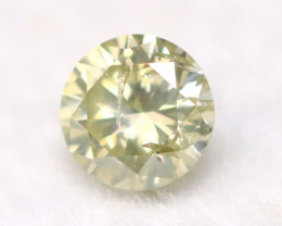 Diamond 3.30mm Natural Fancy Round Brilliant Cut Diamond A2803