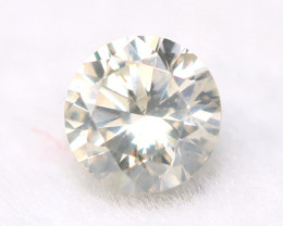Diamond 3.05mm Natural Fancy Round Brilliant Cut Diamond A2809