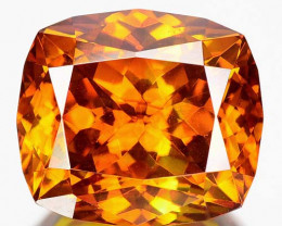 5.71 Cts Unheated Natural Sphalerite Sunset Orange Cushion Cut Spain