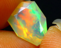 Welo Opal 1.05Ct Natural Ethiopian Play of Color Opal DR49