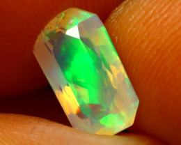 Welo Opal 1.15Ct Natural Ethiopian Play of Color Opal DR51