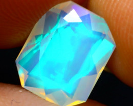 Welo Opal 1.32Ct Natural Ethiopian Play of Color Opal DR52