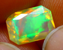 Welo Opal 1.31Ct Natural Ethiopian Play of Color Opal DR53