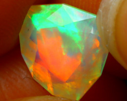 Welo Opal 1.75Ct Natural Ethiopian Play of Color Opal DR54