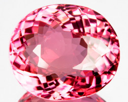 10.79 Cts Natural Sweet Pink Tourmaline Flawless Oval Cut Mozambique