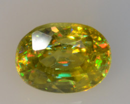 1.20 CT SPHENE WITH DRAMATIC FIRE GEMSTONE SP35