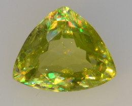 NATURAL SPHENE WITH DRAMATIC FIRE GEMSTONE SP37