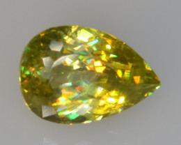 0.85 CT SPHENE WITH DRAMATIC FIRE GEMSTONE SP38