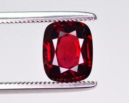 1.35 Ct Marvelous Color Natural Red Spinel From Burma