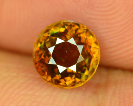 Rare AAA Fire 2.10 ct Sphene