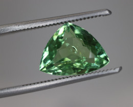 #243 2.70CT BRIGHT GREEN COLOR  UNTREATED EYE CLEAN