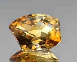 Natural Citrine 14.26 Cts Faceted Gemstone