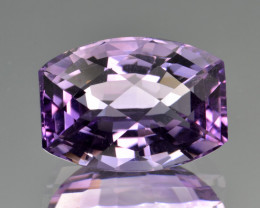 Natural Amethyst 7.46  Cts Top Clean Gemstone