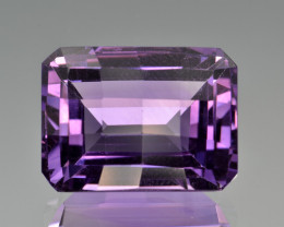 Natural Amethyst 16.91  Cts Top Clean Gemstone