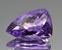 Natural Amethyst 18.31  Cts Top Clean Gemstone