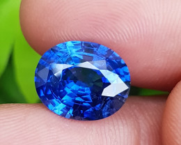 TOP CORNFLOWER BLUE COLOR 6.93 CTS NATURAL STUNNING SAPPHIRE SRI LANKA