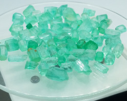 124 Carat Rough Panjshir Afghanistan Emeralds Parcel