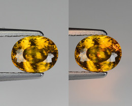 1.07 CT SPHENE WITH DRAMATIC FIRE GEMSTONE SP7