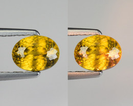 0.92 CT SPHENE WITH DRAMATIC FIRE GEMSTONE SP14