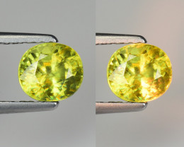 1.08 CT SPHENE WITH DRAMATIC FIRE GEMSTONE SP16