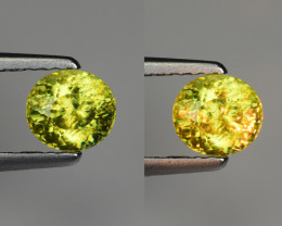 0.83 CT SPHENE WITH DRAMATIC FIRE GEMSTONE SP21