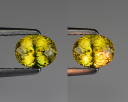 0.82 CT SPHENE WITH DRAMATIC FIRE GEMSTONE SP24