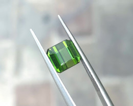 2.40 Ct Natural Green Transparent Tourmaline Gemstone