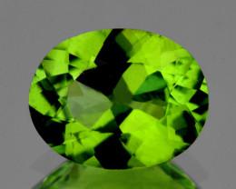 9x7 mm Oval 2.15cts Green Peridot [VVS]