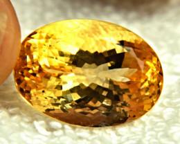 26.8 Carat Brazil VVS Golden Citrine - Gorgeous
