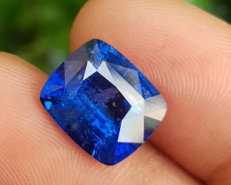 ROYAL BLUE 7.87 CTS NATURAL STUNNING CUSHION CUT SAPPHIRE SRI LANKA