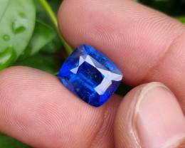 ROYAL BLUE 7.87 CTS NATURAL STUNNING CUSHION CUT SAPPHIRE SRI LANKA